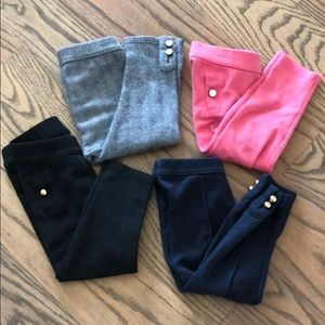 Janie and Jack pants (lot of 4)toddler girl 18-24m